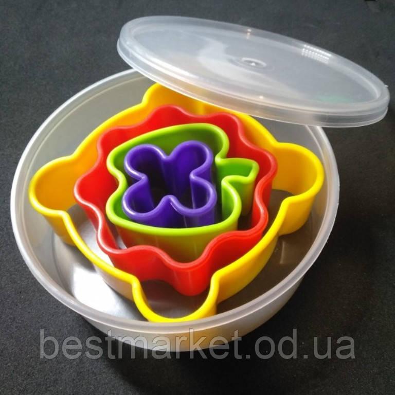 Набор Форм для Печенья из Пластика 4шт в Коробочке