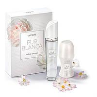 Набор женский подарочный Pur Blanca (Пур Бланка) Avon (Эйвон,Ейвон)
