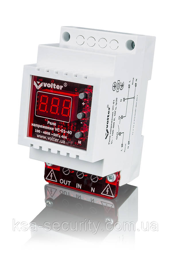 Реле контроля напряжения Volt-control VC-01-32
