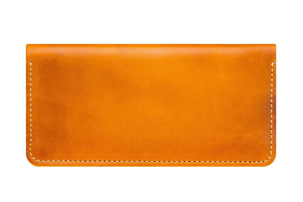 Кожаный кошелек ручной работы 19