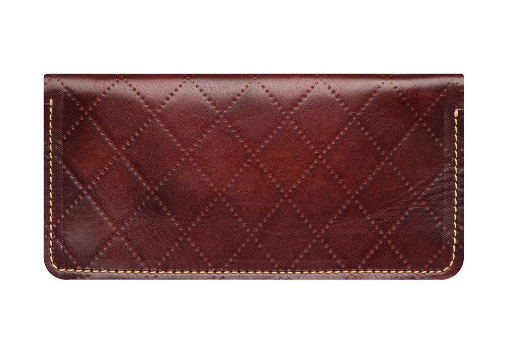 Кожаный кошелек ручной работы 24