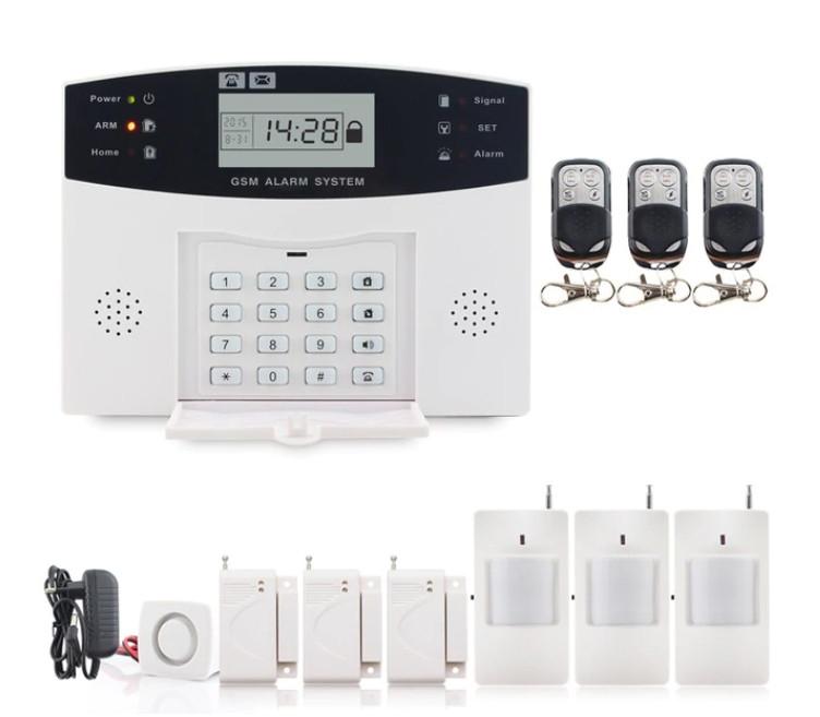 Повний комплект бездротової GSM сигналізації PG500 / B2G / А30 Акція! (комплект 8)