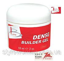 Гель Blaze Dense Builder Gel Clear, 59 мл прозрачный