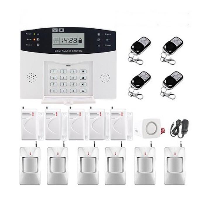 Повний комплект бездротової GSM сигналізації PG500 / B2G / А30 Акція! (комплект 12)