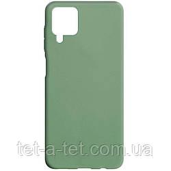 Чехол cиликоновый Candy для Samsung Galaxy A12 Pistachio color