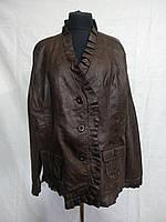 Женская демисезонная куртка из эко-кожи