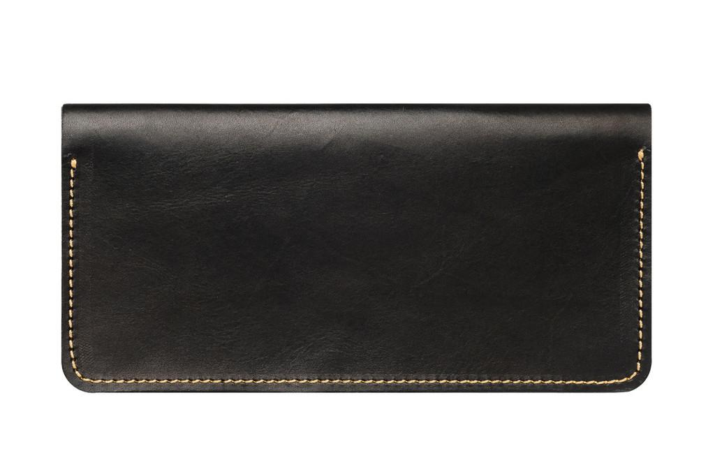 Кожаный кошелек ручной работы 34