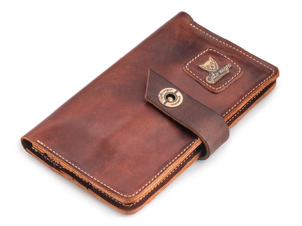 Кожаный кошелек ручной работы 36