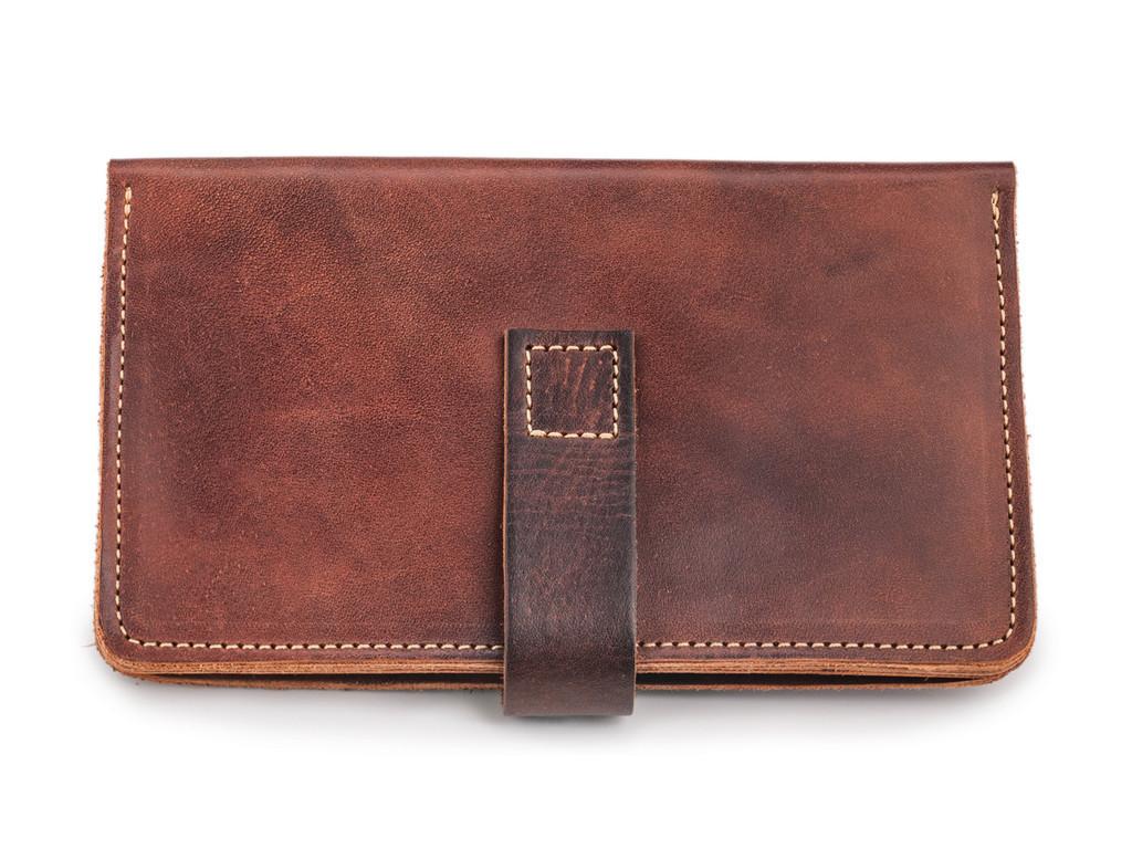 Кожаный кошелек ручной работы 39
