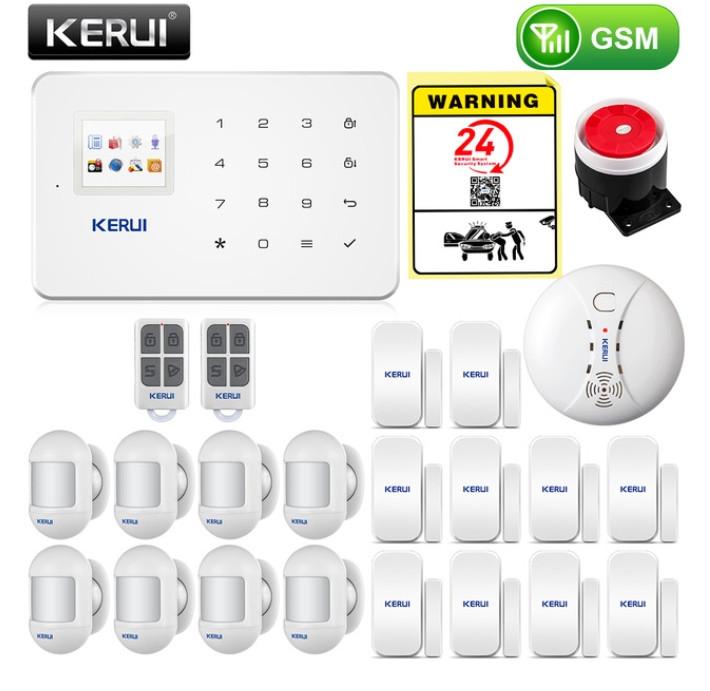 Комплект беспроводной gsm сигнализации Kerui G18 (комплект 16)