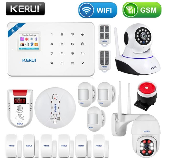 Комплект беспроводной gsm сигнализации Kerui W18 (комплект 10)