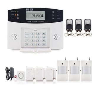 Полный комплект беспроводной GSM сигнализации PG500 / B2G / А30 Акция! (комплект 8)
