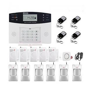 Полный комплект беспроводной GSM сигнализации PG500 / B2G / А30 Акция! (комплект 12)