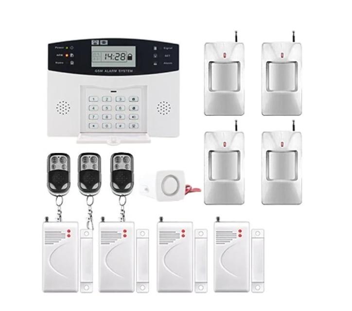 Повний комплект бездротової GSM сигналізації PG500 / B2G / А30 Акція! (комплект 13)