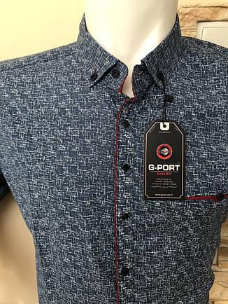 Батальна сорочка з довгим рукавом G-port з принтом -105, фото 2