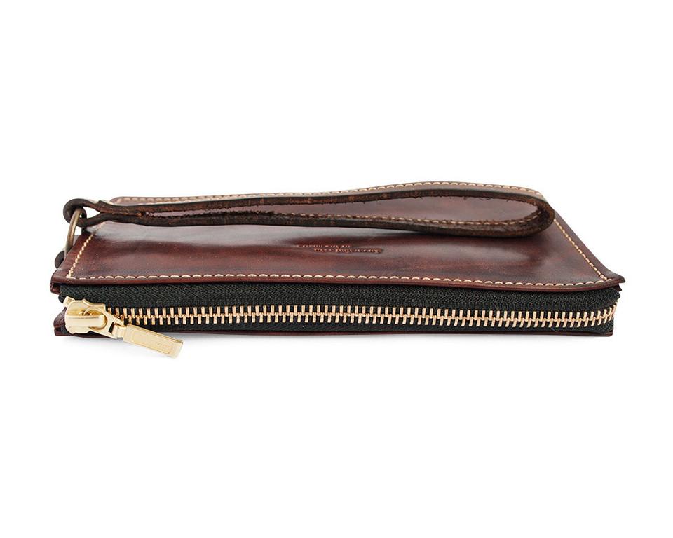 Кожаный кошелек ручной работы 42
