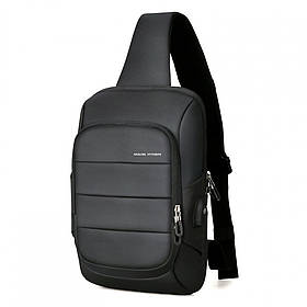 Рюкзак с одной лямкой Mark Ryden Miniturtle MRK9084 Black
