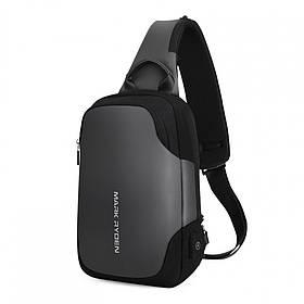 Рюкзак з одного лямкою Mark Ryden Mini Secret MR7056 Gray