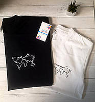 """Парные футболки """"Вместе на край света"""""""