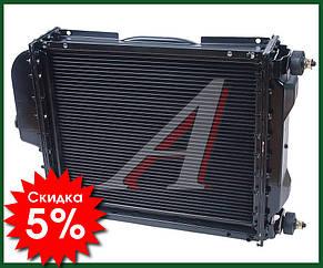 Радіатор водяного охолодження МТЗ Д-240, Д243 МТЗ 82 (алюмінієвий) 4х рядний, фото 2