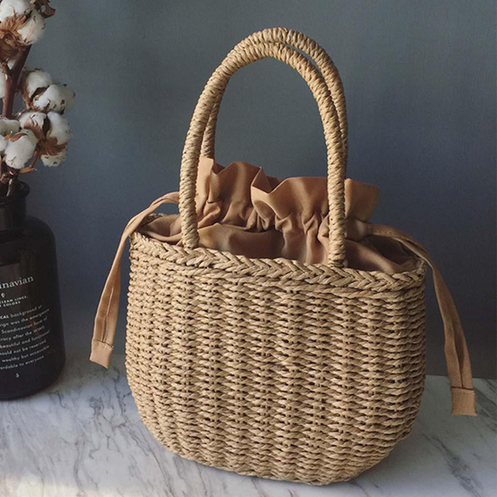 Модная плетеная женская сумка