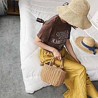 Модная плетеная женская сумка, фото 5