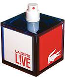 Lacoste Live Pour Homme туалетная вода 100 ml. (Тестер Лакост Лайв Пур Хом), фото 2