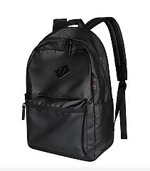 Мужской городской рюкзак (для ноутбука) - черный