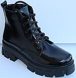 Ботинки женские на байке кожаные от производителя модель МВ303, фото 2