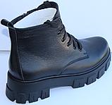 Ботинки женские на байке кожаные от производителя модель МВ303, фото 5