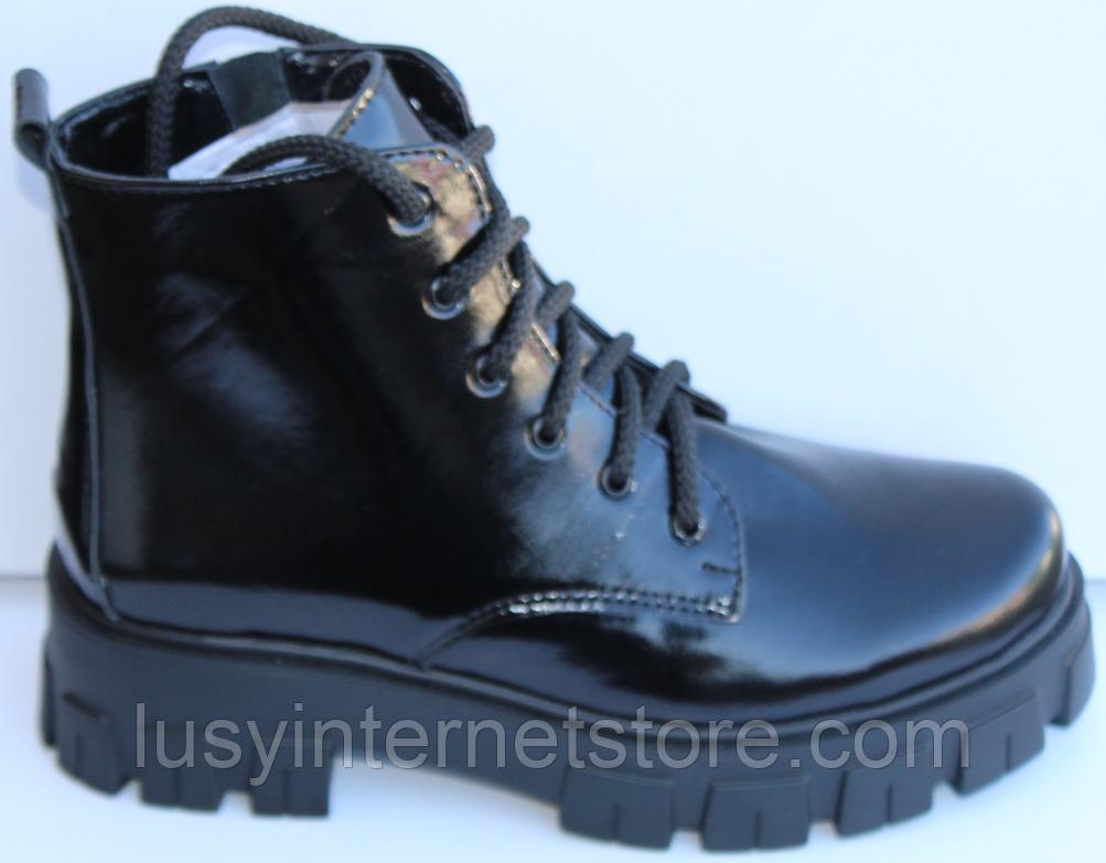 Ботинки женские на байке кожаные от производителя модель МВ303
