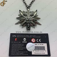 """Медальйон Геральта - """"The Witcher 3"""" повна комплектація"""