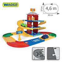 Игровой набор Wader - Kid Cars 3D паркинг 3 этажа с дорогой 4,6 метра