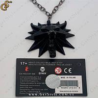 """Медальйон Геральта - """"The Witcher"""" повна комплектація"""