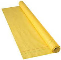 Пленка армированная гидробарьер 1,5*50м 75м2 желтый