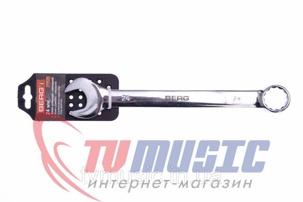 Ключ рожково-накидной Berg 48-318 (24 мм)