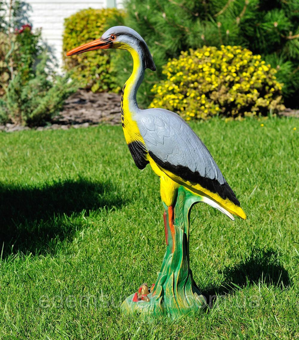 Садовая фигура Цапля большая