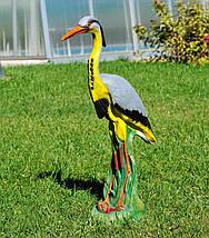Садовая фигура Цапля большая, фото 3