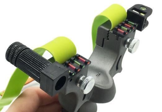 Рогатка спортивна з лазерним прицілом SYQT