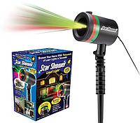 Уличный лазерный проектор Star Shower Laser Light праздничное освещение, диско проектор