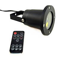 Уличный лазерный проектор Waterproof с пультом управления, праздничное освещение, диско проектор