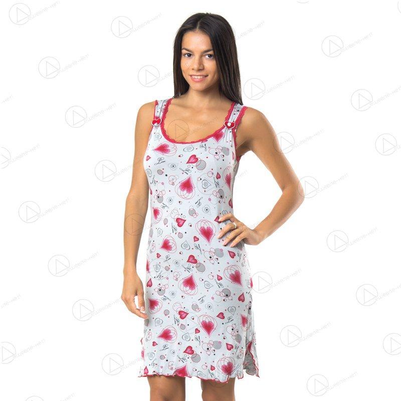 Женская ночная рубашка Vetex Carolina KRLN8016