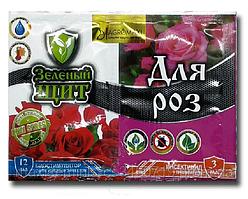 Средство для защиты от насекомых Зеленый щит для роз  3 мл + 12 мл