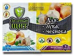 Инсекто-фунгицид Зеленый щит для лука и чеснока 3мл+12мл