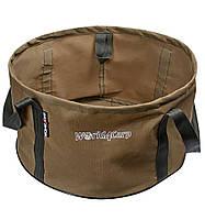 Мягкое ведро для прикормки без крышки World4Carp Soft Bucket Coyote 25 л