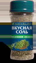 Вкусная соль - Весенняя зелень - 75 г - Даника, Украина