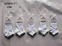 """Шкарпетки жіночі короткі """"ШУГУАН"""" р-ри 37-40 (1уп-10 пар) колір білий"""