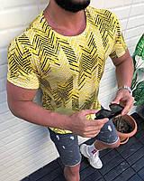 Мужская футболка с орнаментом S M L XL Футболка Турция