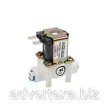 DC 12V Електричний електромагнітний клапан для води, повітря 1/4