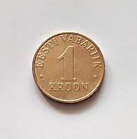 1 крона Естонія 2003 р., фото 1